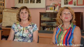 Ольга Булекова и Наталья Юрченко
