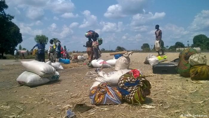 Mosambik RENAMO Gewalt in Nhampoca