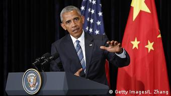 China G20 Gipfel in Hangzhou - Barack Obama