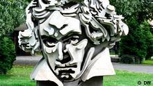Bonn Büste Ludwig van Beethoven vor der Beethoven Halle