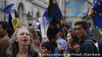 Demo against Brexit