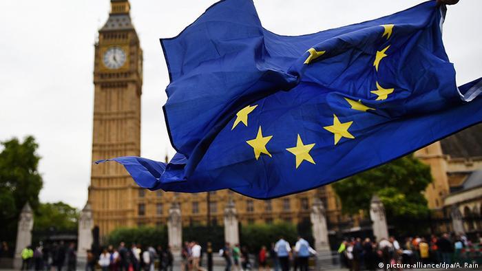 Демонстрация в Лондоне против Brexit