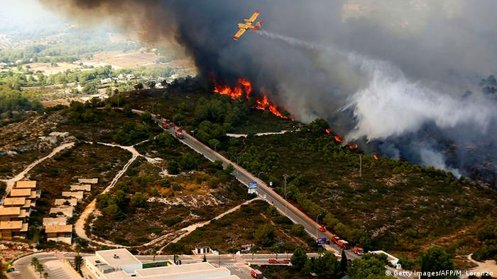 Waldbrände an der Costa Blanca (Foto: AFP)