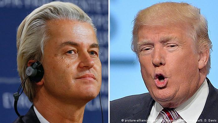 Geert Wilders and Donald Trump