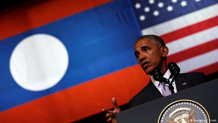 Laos ASEAN Gipfel Rede Barack Obama