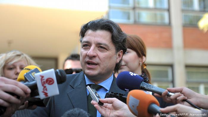 Mazedonien Ljubomir Frckovski Politiker