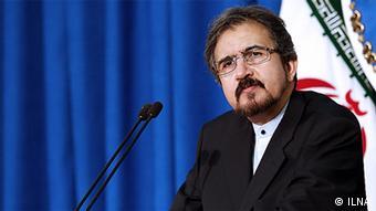 Iranian foreign minister Bahram Ghasemi