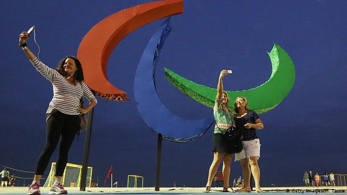 Brasilien Rio Paralympics 2016 Touristen