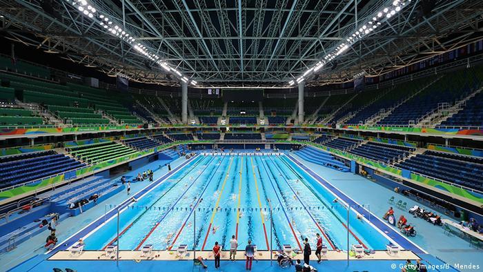 Brasilien Rio Paralympics 2016 Schwimmer