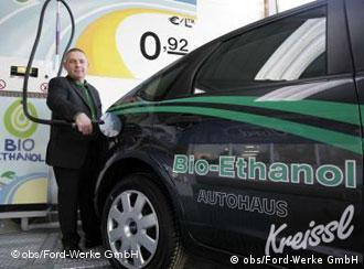 Бад Хомбург первым в Германии открыл биоэтаноловую заправку