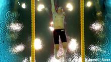 China Paralympische Spiele 2012 - Schwimmer Yanpeng Wei