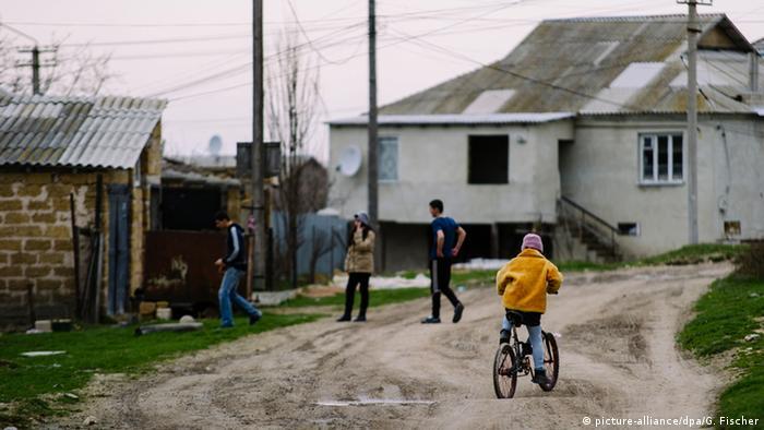 Крымские татары в Бахчисарае