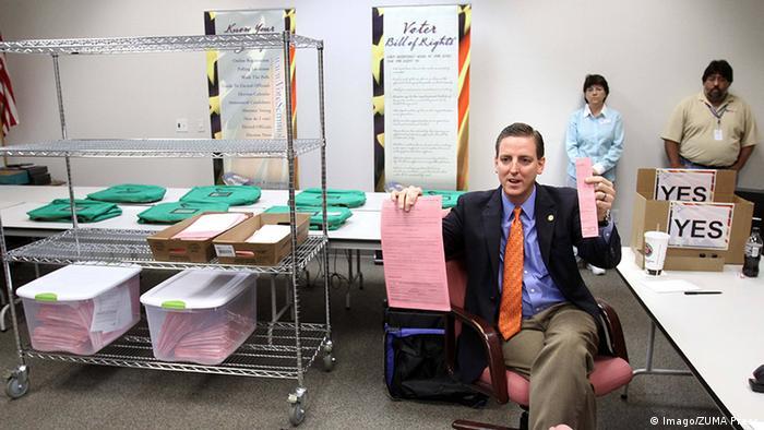 USA Florida Stimmenauszählung Präsidentschaftswahl 2012