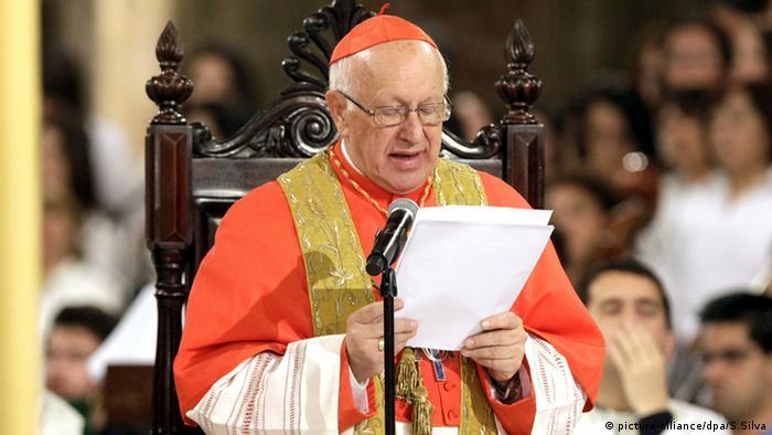 Ricardo Ezzati Erzbischof Chile (picture-alliance/dpa/S.Silva)