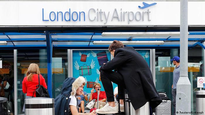 Großbritannien Flughafen London City Airport (Reuters/E. Keogh)