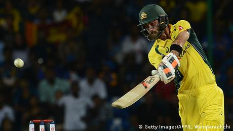 Sri Lanka Cricket - Sri Lanka vs. Australien - Glenn Maxwell, Australien (Getty Images/AFP/L. Wanniarachchi)