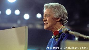 USA historische Präsidentschaftskandidatin Margaret Chase Smith