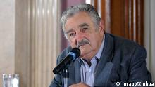 01.03.2010 (100301) -- MONTEVIDEO, March 1, 2010 (Xinhua) -- Uruguayan president-elect Jose Mujica speaks during a press conference in Montevideo, capital of Uruguay, Feb. 28, 2010. Uruguayan president-elect Jose Mujica, a former guerilla fighter imprisoned during the military dictatorship from 1973 to 1985, is scheduled to take office on March 1. (Xinhua/Nicholas Zelaya) (zcc) (2)URUGUAY-POLITICS-MUJICA PUBLICATIONxNOTxINxCHN People Politik kbdig xsk 2010 quer premiumd o0 Porträt Copyright: Copyright: imago/Xinhua