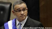 El Salvador Präsident Mauricio Funes (2012) (picture-alliance/AP Photo/L. Romero)