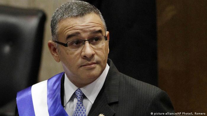 El Salvador Präsident Mauricio Funes (2012)