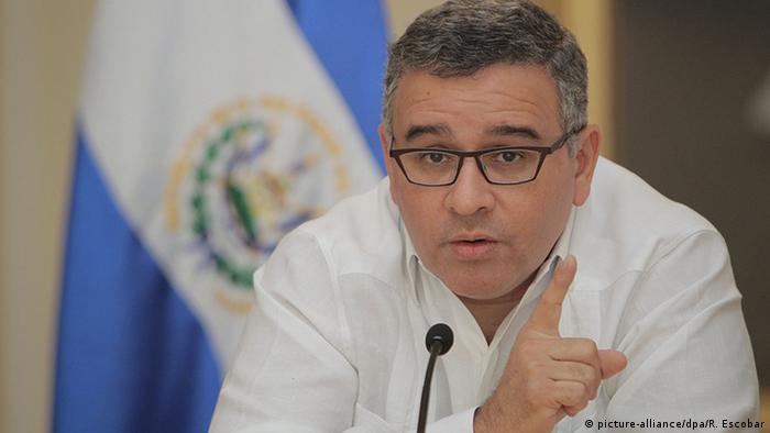 El Salvador Präsident Mauricio Funes (2014)