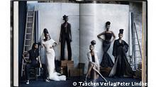 Buch Seite aus Peter Lindbergh A Different Vision on Fashion Photography