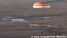 Kasachstan Rückkehr von Raumstation ISS