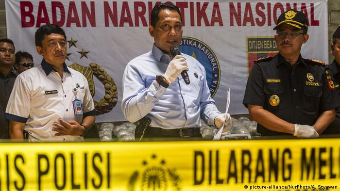 Indonesien The National Narcotics Agency - Budi Waseso (picture-alliance/NurPhoto/A. Styawan)