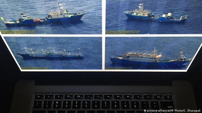 Philippinen China - Südchinesisches Meer, Überwachungsbilder
