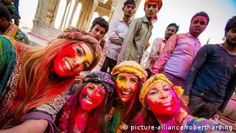 Indien Tourismus Touristinnen