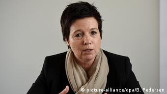 Die Chefin des BAMF, Jutta Cordt (Foto: picture-alliance/dpa/B. Pedersen)