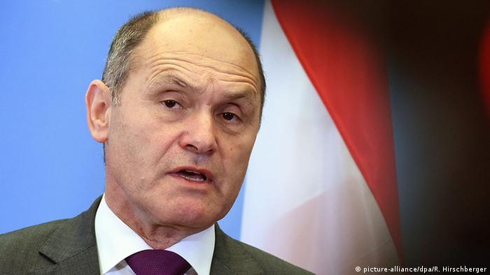 Österreich Wolfgang Sobotka (ÖVP) Innenminister