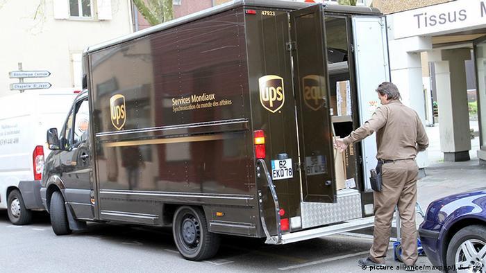 Kurierdienst UPS