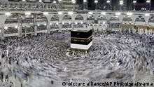 Saudi Arabien Mekka Pilger Kaaba