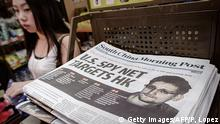 Hongkong Titel South China Morning Post Snowden