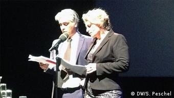 Susanne Koelbl und Aarash D. Spanta, Foto: Sabine Peschel