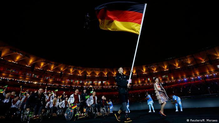 Deutsches Team bei Paralympics (Foto: Reuters)