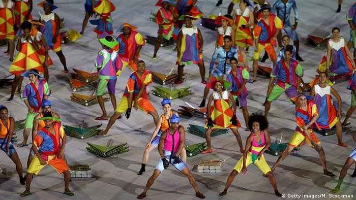 Tänzer bei Paralympics-Eröffnung (Foto: Getty Images)