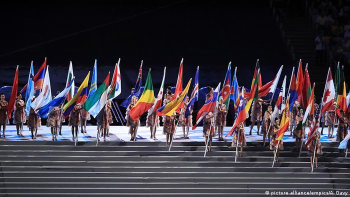 Открытие игр Паралимпиады