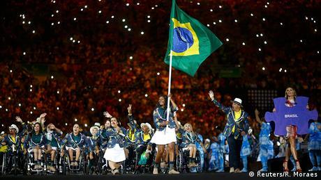 Rio Paralympics Momente 07.09 Brasilien Athlete