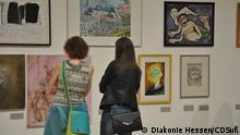 *** NUR FÜR Bildergalerie Kunst trotz(t) Handicap, Wanderausstellung der Diakonie Deutschland VERWENDEN*** Kunst trotz(t) Handicap bei der Kasseler Museumsnacht 3. September 2016 (c) Diakonie Hessen/CDSuß