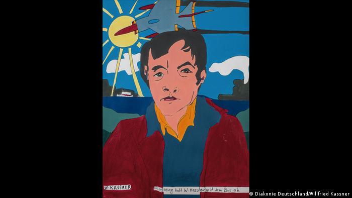 Kassel Kunst trotz(t) Handicap Willfried Kassner Copyright: Diakonie in Deutschland, Diakonie in Hessen