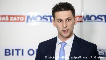 Kroatien Bozo Petrov Politiker (picture-alliance/dpa/Pixsell/P. Glebov)