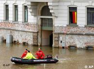 جرمن حکومت سیلاب کے ممکنہ خطرات سے بچنے کی صلاحیت رکھتی ہے
