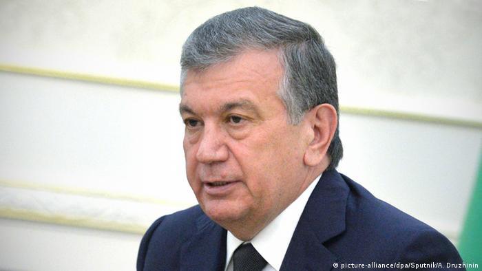 Schawkat Mirsijojew Premierminister Usbekistan (picture-alliance/dpa/Sputnik/A. Druzhinin)
