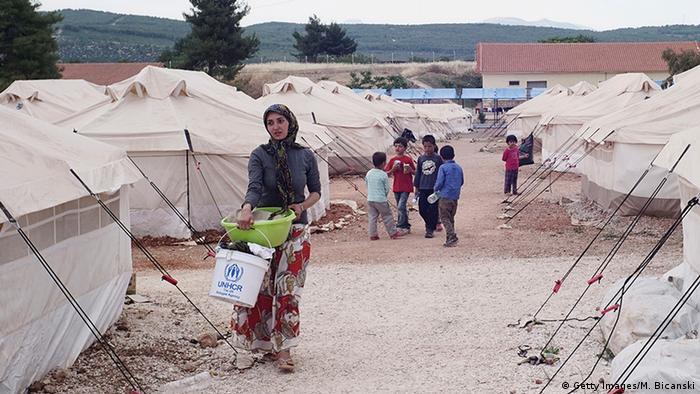 Griechenland Malakasa Flüchtlingslager