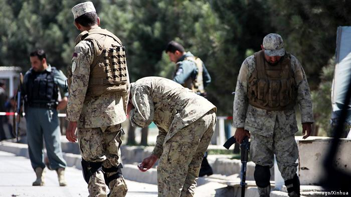 Afghanistan Selbstmordanschlag in Kabul (Imago/Xinhua)
