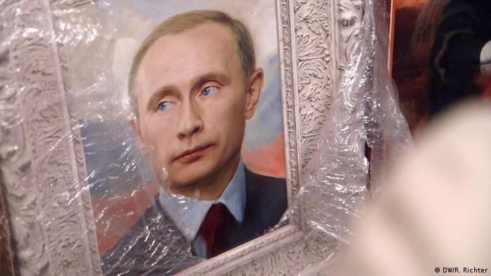 Putin, by Nikas Safronov