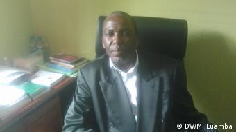 Angola Luanda Emanuel Malaquias, Director of the Radio Despertar, in Angola