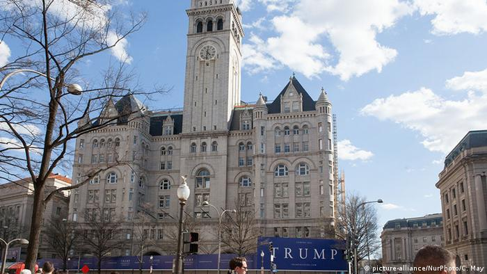 Washington Trump International Hotel (picture-alliance/NurPhoto/C. May)